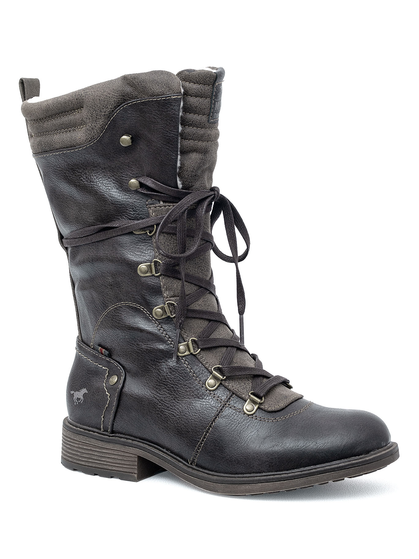 c2d6ae250c832 Kozaki damskie Mustang 43C-009 (1264-612-303) mustang shoes