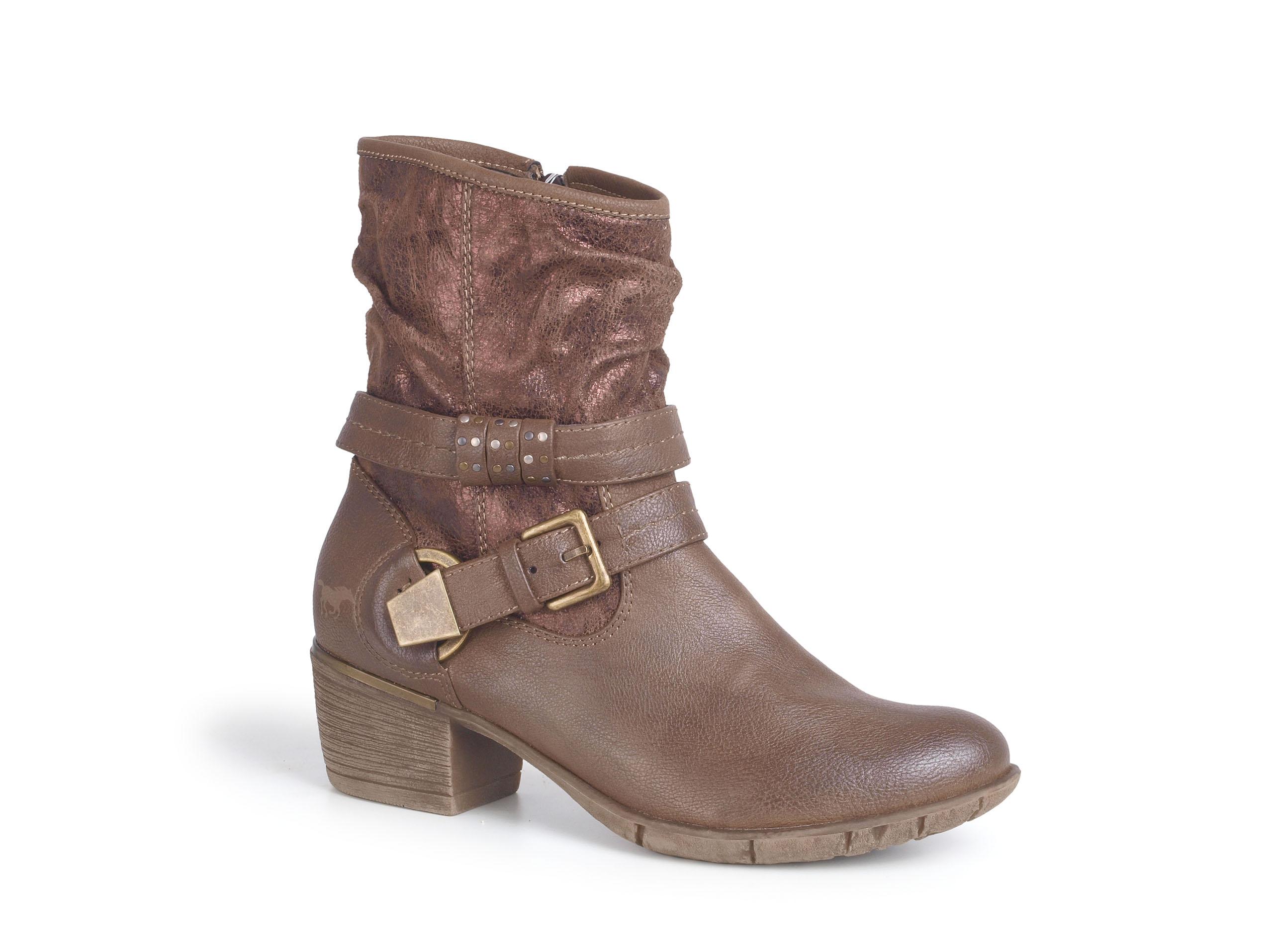 eccd43eaa1521 Kozaki damskie MUSTANG shoes 35C-037 mustang shoes